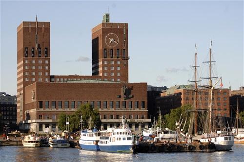 Oslo Town Hall (© VisitOSLO/Nancy Bundt)